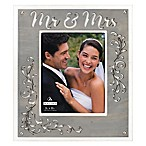 Malden 8-Inch x 10-Inch Laser-Cut Mr. & Mrs. Picture Frame