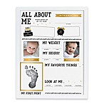 Pearhead® All About Me Highlights 2-Photo Collage Picture Frame in Grey