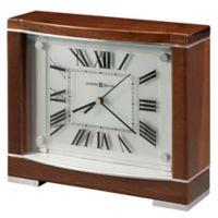 Howard Miller® Megan Mantle Clock in Piano Walnut