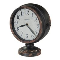 Howard Miller® Cramden Mantle Clock in Antique Black