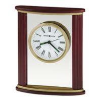Howard Miller® Victor Tabletop Clock in Rosewood