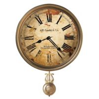 Howard Miller® Moment in Time JH Gould & Co. III Wall Clock in Distressed Tan