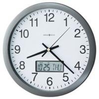 Howard Miller® Chronicle Wall Clock in Grey