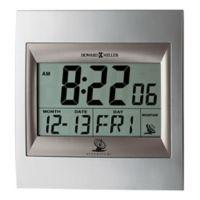 Howard Miller® Techtime II Alarm Clock in Silver