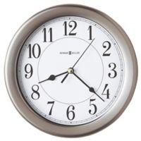Howard Miller® Aries Wall Clock in Brushed Nickel