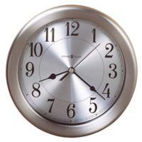 Howard Miller® Pisces Wall Clock in Brushed Nickel