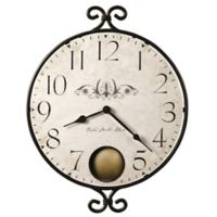 Howard Miller Randall Wall Clock In Wrought Iron