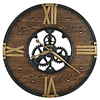 Howard Miller® Murano Wall Clock in Matte Black