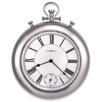 Howard Miller® Hobson Wall Clock in Polished Chrome