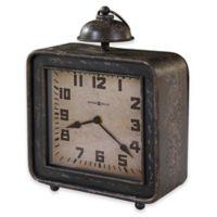Howard Miller® Collins Mantel Clock in Antique Black
