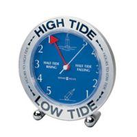 Howard Miller® Tide Mate III Mantel Clock in Silver