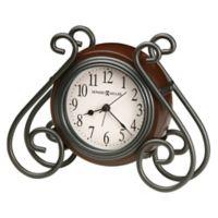 Howard Miller® Diane Tabletop Alarm Clock in Warm Grey