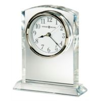 Howard Miller® Flaire Tabletop Clock in Glass