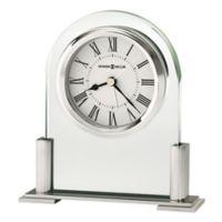 Howard Miller® Brinell III Tabletop Alarm Clock in Silver