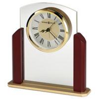 Howard Miller® Winfield Tabletop Alarm Clock in Satin Rosewood