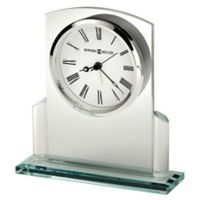 Howard Miller® Colton Tabletop Clock in Glass