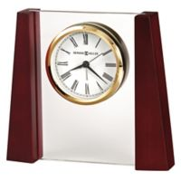 Howard Miller® Keating Tabletop Alarm Clock in Satin Rosewood