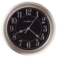 Howard Miller® Libra Wall Clock in Brushed Nickel