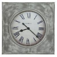 Howard Miller® Bathazaar Wall Clock in Aged White/Grey