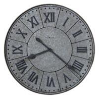 Howard Miller® Manzine Wall Clock in Galvanized Steel