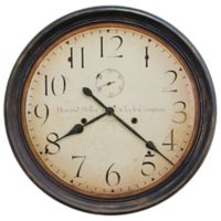 Howard Miller® Squire Wall Clock in Aged Black