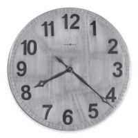 Howard Miller® Aviator Gallery Wall Clock in Aged Aluminum