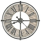 Howard Miller® Eli Wall Clock in Aged Silver