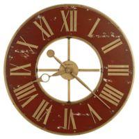 Howard Miller® Boris Wall Clock in Antique Red