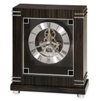 Howard Miller® Batavia Mantel Clock in Ebony