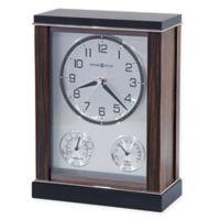 Howard Miller® Aston Mantel Clock in Ebony