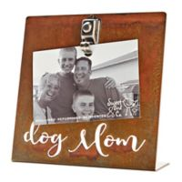Sweet Bird & Co. 4-Inch x 6-Inch Dog Mom Clip Picture Frame