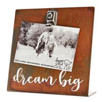 Sweet Bird & Co. 4-Inch x 6-Inch Dream Big Clip Picture Frame