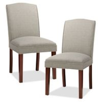 Madison Park™ Camel Upholstered Dining Chairs in Cream/Grey (Set of 2)