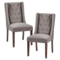 Madison Park™ Cleo Upholstered Dining Chairs in Light Brown (Set of 2)