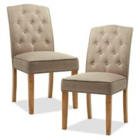 Madison Park™ Marian Upholstered Dining Chairs in Taupe (Set of 2)