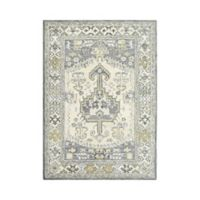 Sienna Hand-Tufted 5' x 7' Area Rug in Charcoal/Ivory