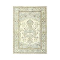 Sienna Hand-Tufted 5' x 7' Area Rug in Ivory/Green