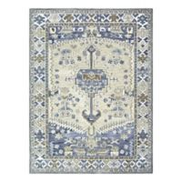 Sienna Hand-Tufted 8' x 10' Area Rug in Indigo/Natural