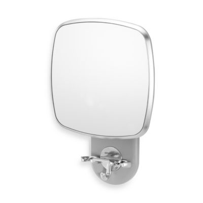 simplehuman antifog wall mount shower mirror