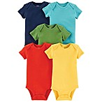carter's® Size 9M 5-Pack Short Sleeve Bodysuits