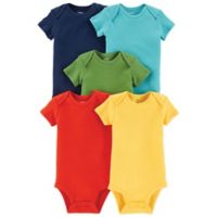 carter's® Size 6M 5-Pack Short Sleeve Bodysuits