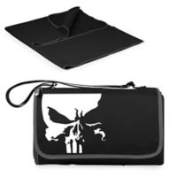 Picnic Time® Marvel® Punisher Outdoor Picnic Blanket in Black