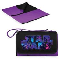 Picnic Time® Star Wars™ Logo Outdoor Picnic Blanket in Purple