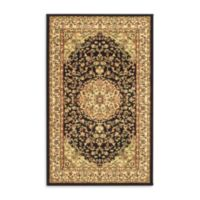 Safavieh Lyndhurst 7-Foot 9-Inch x 10-Foot 9-Inch Rug in Black and Ivory