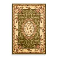 Safavieh Lyndhurst Collection 5-Foot 3-Inch x 7-Foot 6-Inch Rug in Sage/Ivory