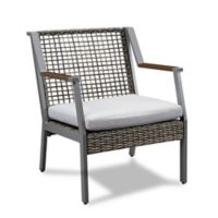 Real Flame® Calvin Outdoor Arm Chairs in Grey (Set of 2)