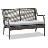 Real Flame® Calvin Outdoor Loveseat in Grey