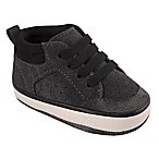 Wee Kids Size 3-6M Distressed High Tops in Grey