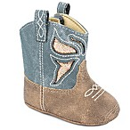 Wee Kids Size 0-2M Western Denim Boot