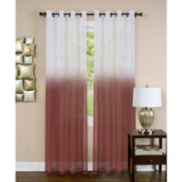 Achim Essence 63-Inch Grommet Window Curtain Panel in Burgundy